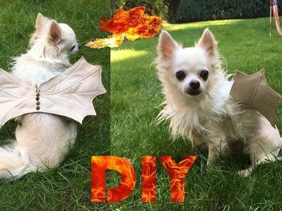 DIY Doggie Dragon Costume | Halloween 2016 #3.5