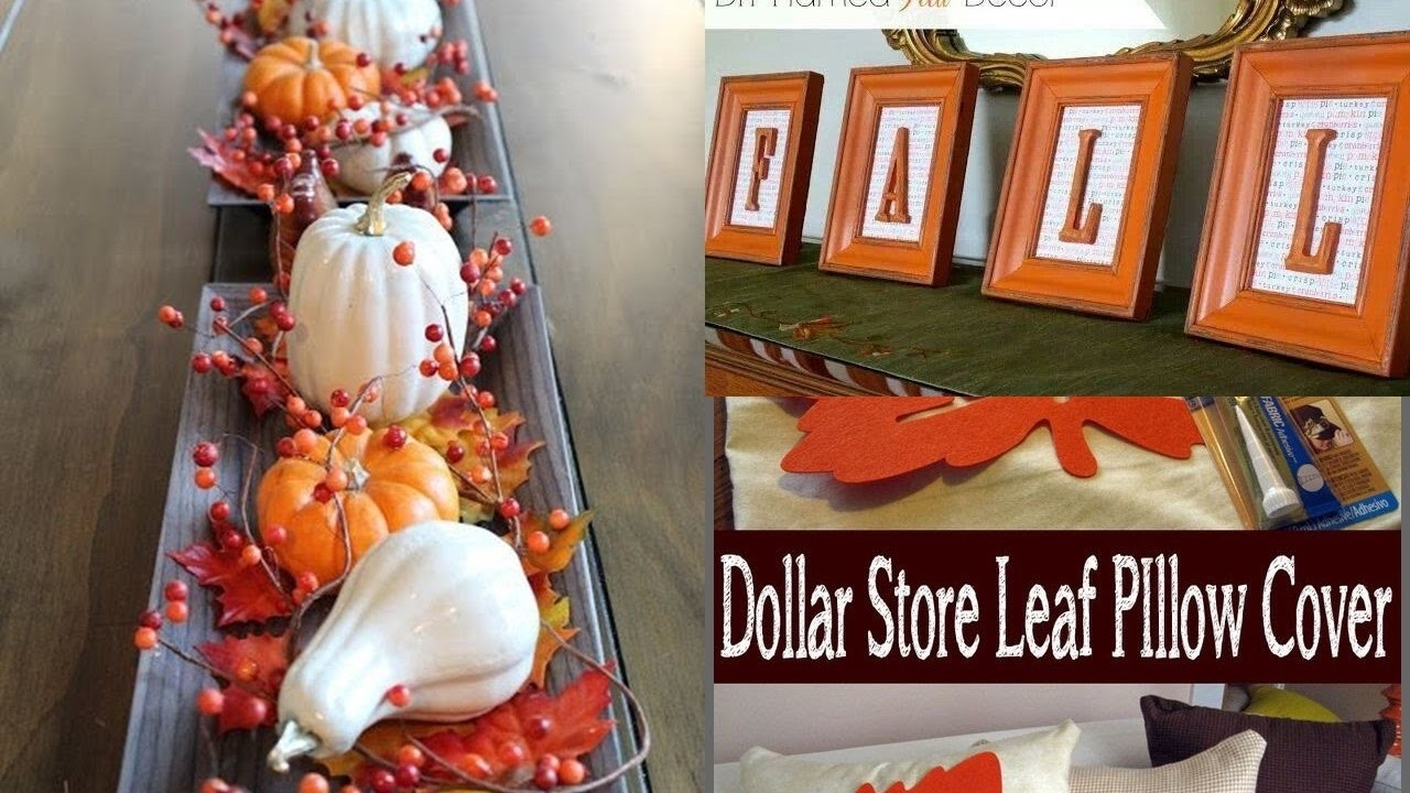 Diy fall decorations ideas dollar tree ideas economica - Ideas para decorar casas ...
