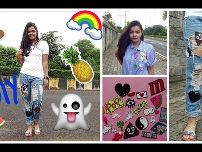 DIY FELT PATCHES | HOW TO MAKE PATCHES | PRAGYA MITTRA