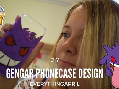DIY Gengar Phonecase Design | Halloween | EverythingApril