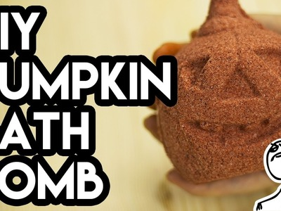 DIY Halloween Pumpkin Bath Bomb | Do It Like a Boss