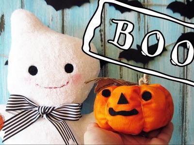 DIY Halloween room decor. 3 Easy Room Decor Ideas for Halloween!! Plush cast, pumpkin, bat decor.