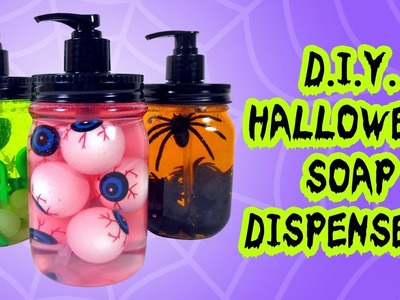 DIY Halloween Soap Dispensers - Easy Halloween Home Decorations