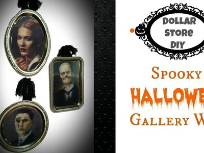 DOLLAR STORE DIY ~ Spooky Halloween Gallery Wall ~ Quick & Easy To Make!