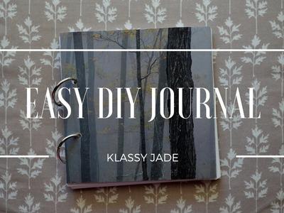 Easy DIY Journal | Klassy Jade