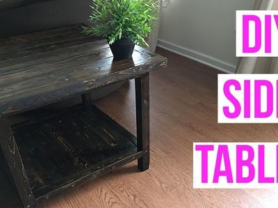 EASY DIY SIDE TABLE