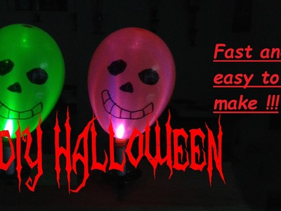 Easy & Fast Halloween Lighting Decorations – DIY Scary House & Room Party Decor - Last Minute Ideas