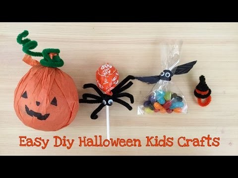 Four Easy and Fun Halloween Craft Ideas