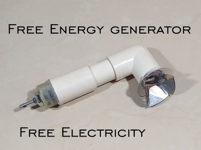 Free Energy Generator - Free Electricity - Free Electricity for Life - DIY