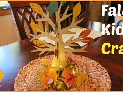 GRATITUDE TREE KIDS CRAFT COLLAB - TARGET DOLLARSPOT | beingmommywithstyle