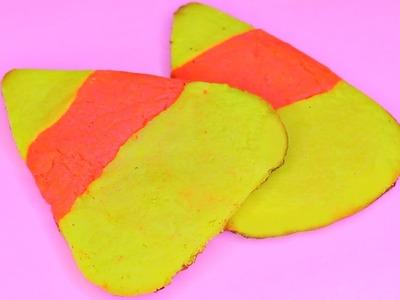 Halloween Candy Corn Cookies! DIY Halloween Treats!