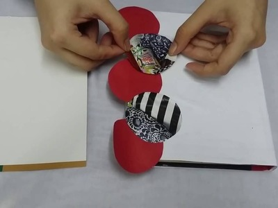 How to decorate a book cover