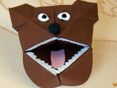 How to make a Bear Hand Puppet? DIY