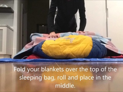 How to make a bed roll - Highgate Girl Guides