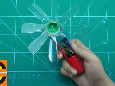 How To Make A Portable Mini Electric Fan | Easy And Simple Steps |