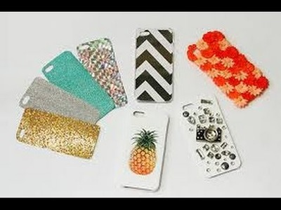 How to make Mobile Phones Covers at home ( DIY)