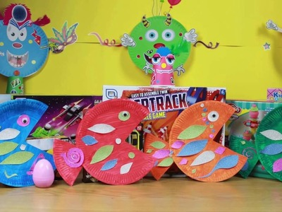 Making Fun Colourful Fish Out Of Paper Plates