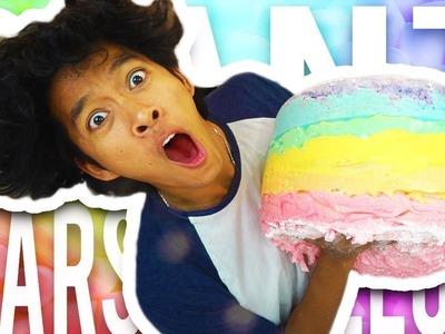 Marlin | DIY GIANT Rainbow Marshmallow!!!