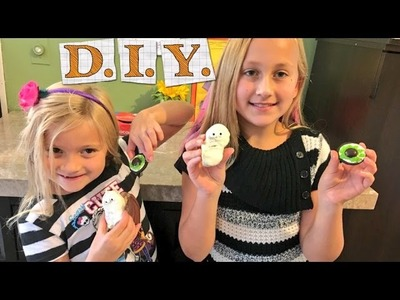 SAVAGE LITTLE GIRL DIY HALLOWEEN COOKIE TUTURIAL!