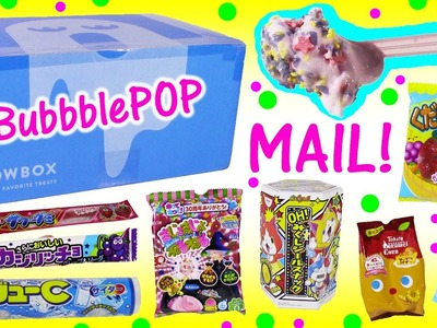 Special Delivery! September WOWBOX Opening! Tons of Sweets & Snacks! DIY CANDY KIT! BubblePOP FUN