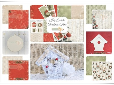 Studio75 Christmas Time Paper Collection & Chipboard Ornaments