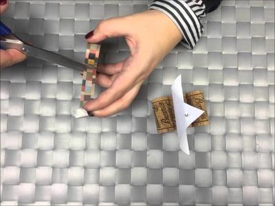 Crafts for kids with corks. manualidades para niños con corchos.
