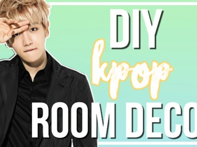 DIY Inexpensive K-Pop Room Decor | BTS, EXO, & More!