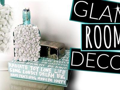 DIY Modern Glam Room Decor. DIY Decor on a Budget