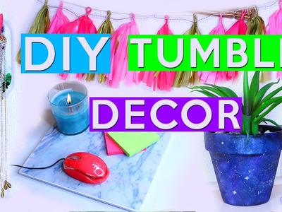 DIY Tumblr Room Decor! INSPIRED BY TUMBLR!