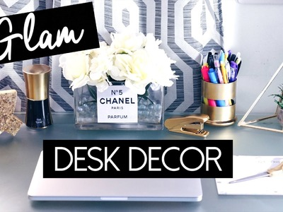 DRAB TO FAB: Diy Desk Decor + Geometric Plant Terrarium!