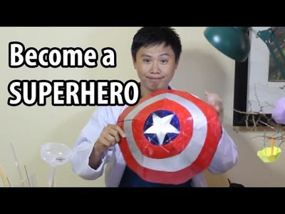 How to Become a Real Life Superhero ? - Origami DIY