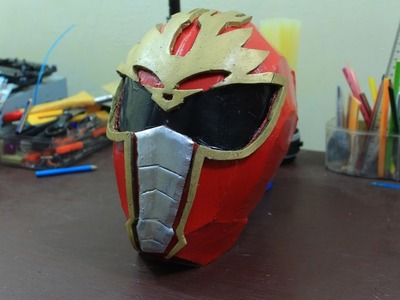 3# DIY Power Rangers mask