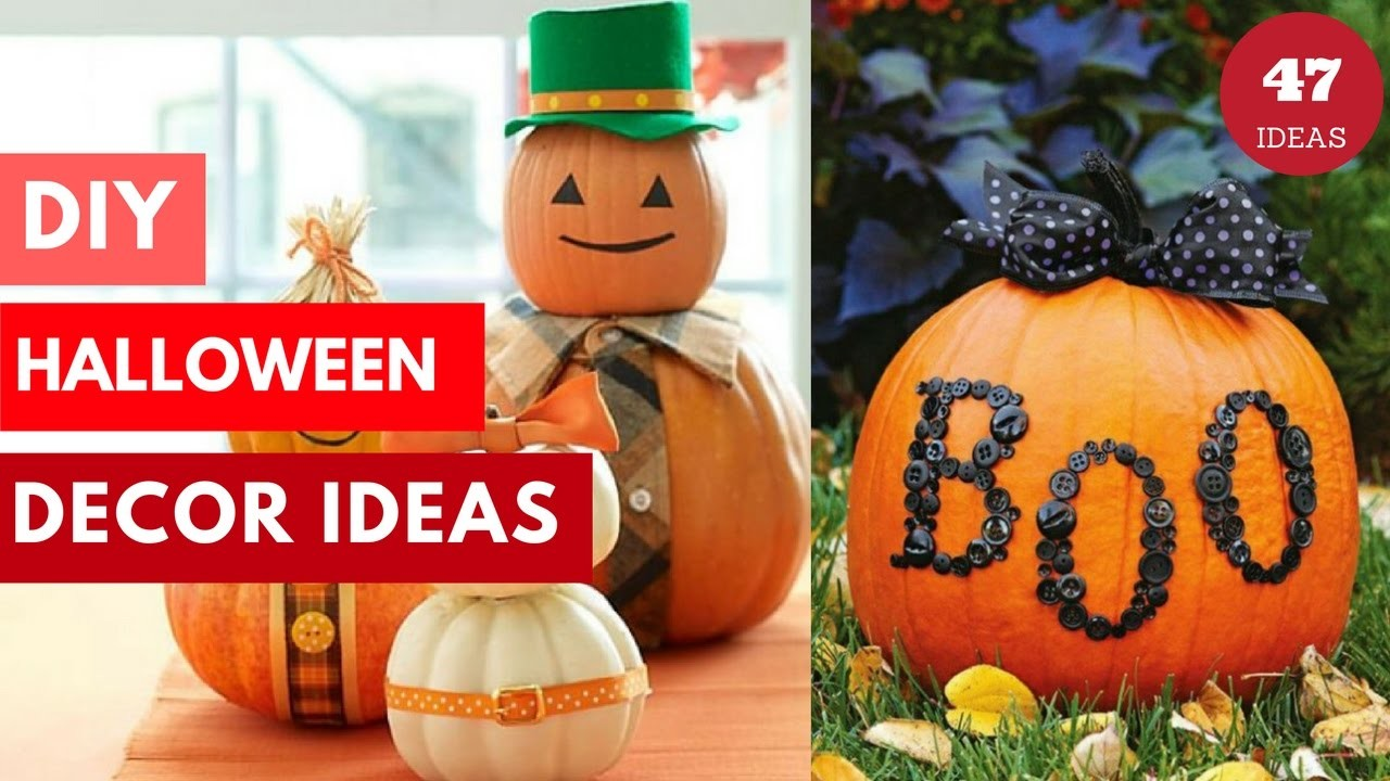 47 Easy to Make DIY Halloween Decor Ideas | Home Decorating Ideas