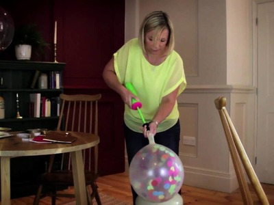 BUBBLEGUM BALLOONS HOW TO VIDEO Confetti Giant