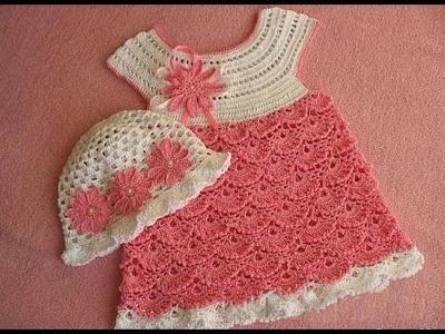 Crochet for beginners| Crochet tutorial |Crochet dress| 2 part 2