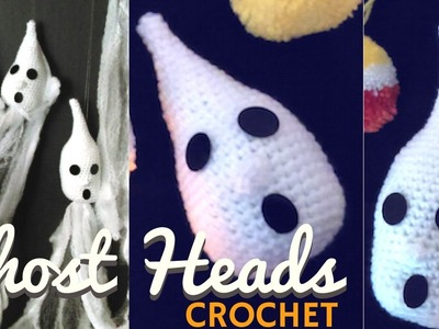 Crochet Ghost- Easy Halloween Crochet