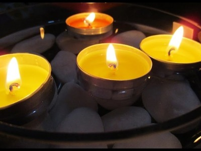 DIY : #148 Bedroom Scented Candles Decoration ♥