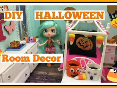 DIY HALLOWEEN Room Decor for Dolls | Easy Doll Crafts | Keeping Up With Peppa Mint Behind the Scenes