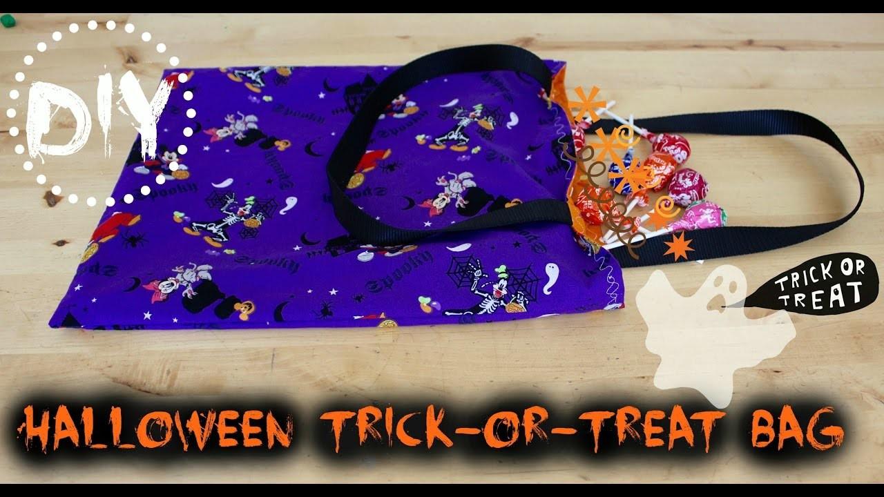DIY Halloween Trick-or-Treat Bag | Sew in 30 Minutes!!!