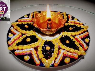 DIY How to make a diya Stand (kitchen special)