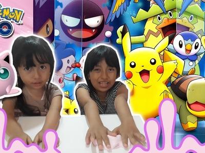 DIY Pokemon Go Jigglypuff Slime | Tutorial Slime Bahasa Indonesia