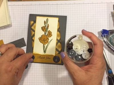 DIY Quick & Easy Card - Stamping 101 Beginner Techniques