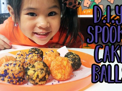 DIY Spooky Cake Balls | Halloween Recipe and Tutorial