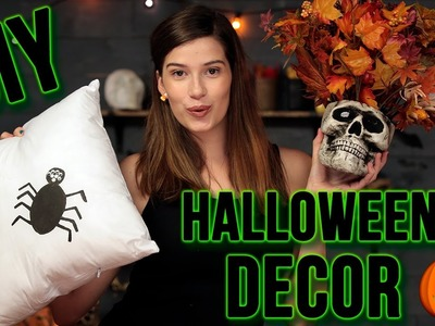 DIY TUMBLR HALLOWEEN ROOM DECOR | Spooktacular w. Marissa Rachel