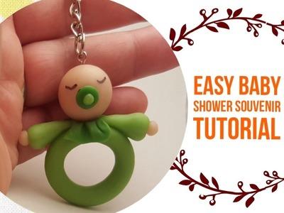 Easy Baby Shower Souvenir DIY - Clay Idea #1