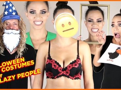 Funny Last Minute DIY Halloween Costumes for Lazy People
