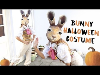 Halloween Bunny Costume: Paper Mache Mask DIY Tips!