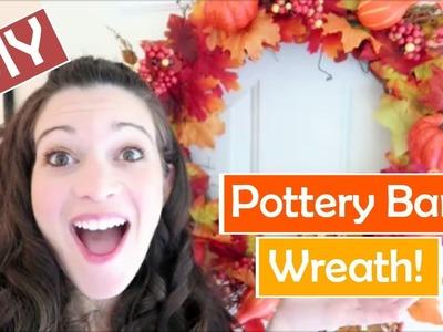 #HALLOWEEN Pottery Barn #Hacks! | #DIY Fall Wreath | MISSY YANDOW