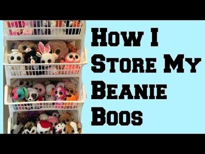 How I Store My Beanie Boos