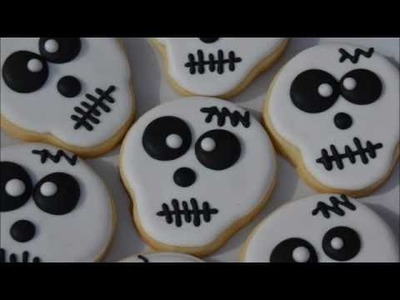 How To Decorate Skeleton Cookies